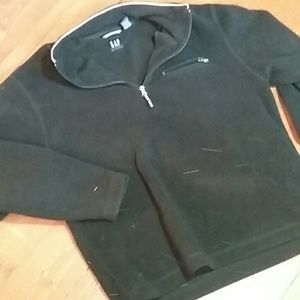 GAP men's quarter zip sweater pullover super nice